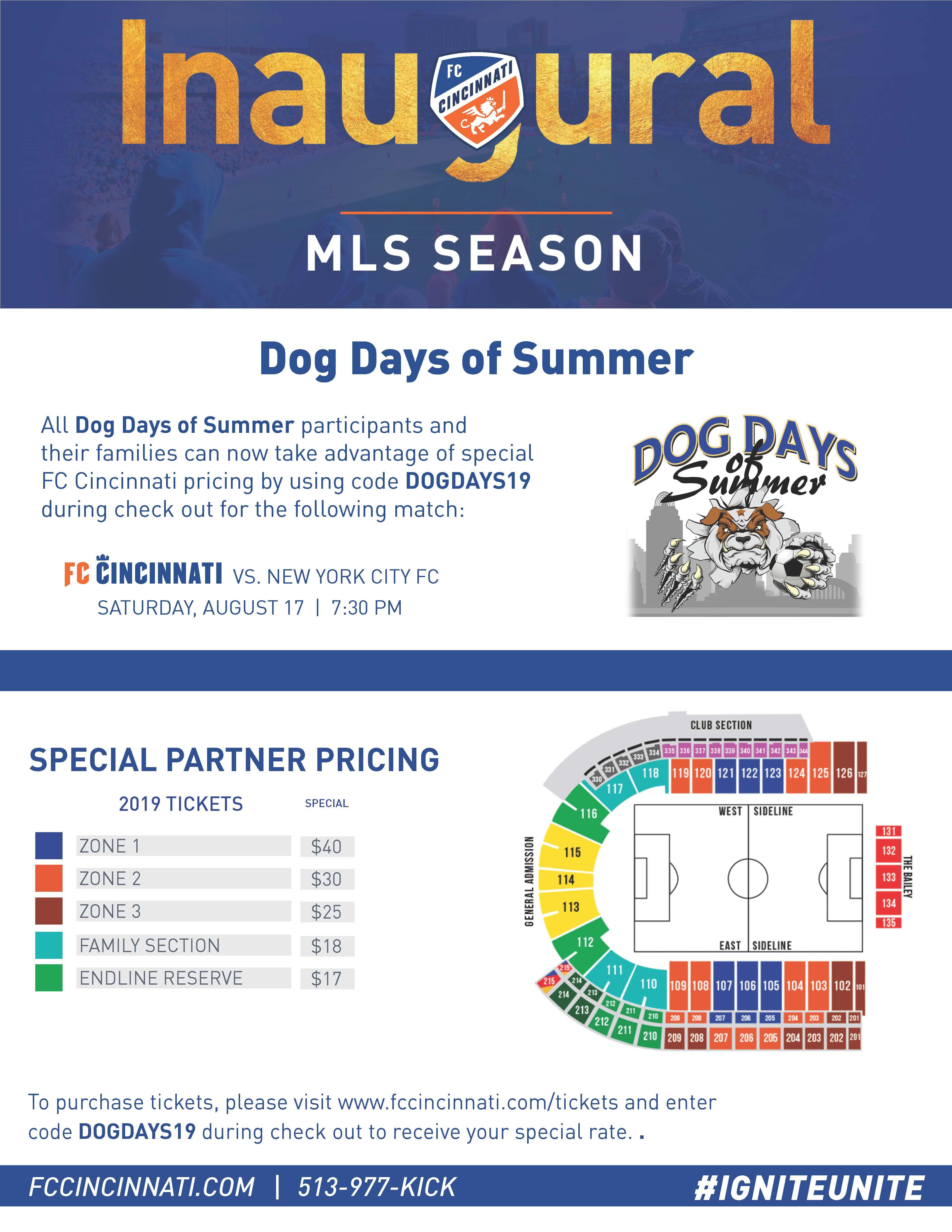 Dog Days of Summer 2019 Flyer