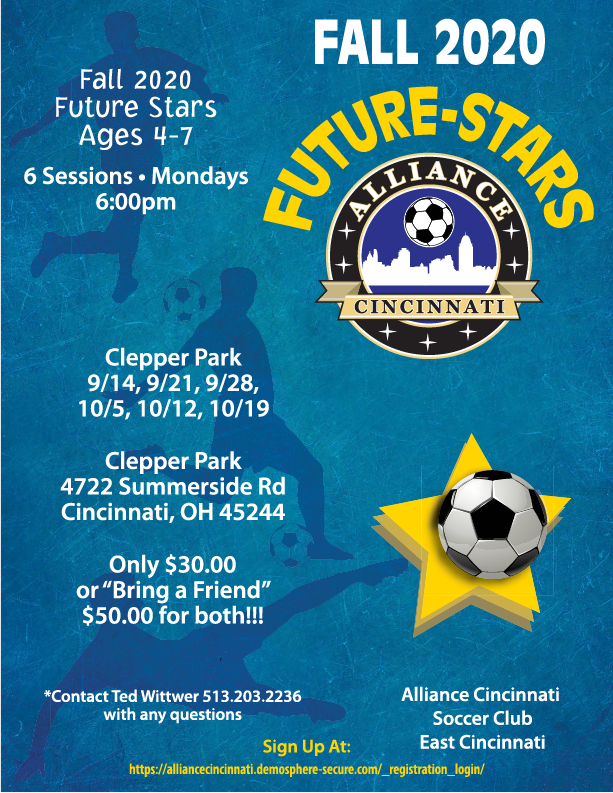 New Future Stars Flier