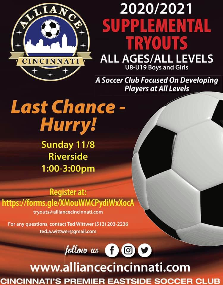 Last Chance Tryouts