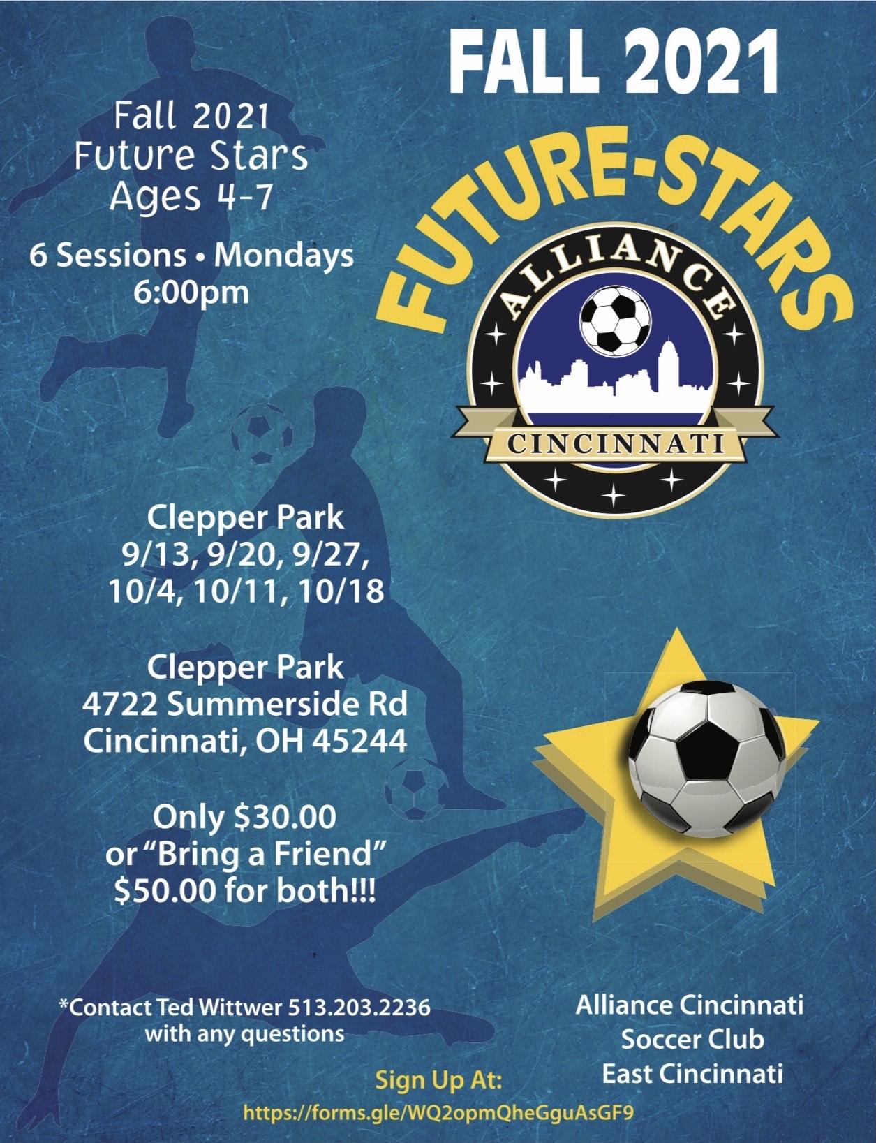 Alliance Cincinnati 2021 Fall Future Stars